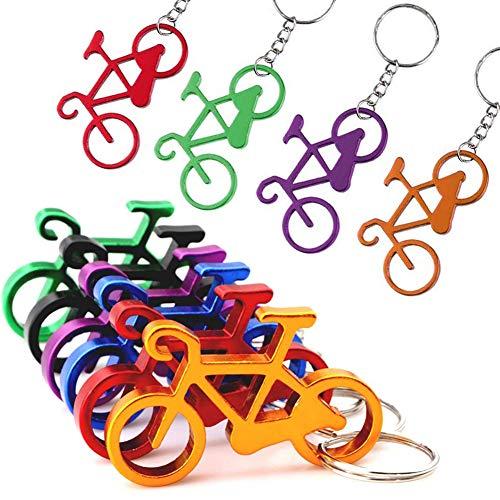 Portachiavi con apribottiglie per bicicletta, mini apribottiglie apribottiglie – divertente apribottiglie – idea regalo per bicicletta – apribottiglie – apribottiglie per chiavi della bicicletta
