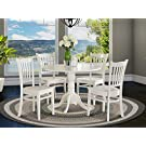 5 PC Kitchen nook Dining set-Table and 4 Kitchen Chairs