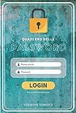 Quaderno delle password: Password organizer | Versione semplice (Verde)| taccuino per pass...