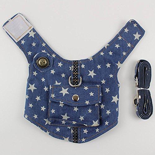 Gowefy Dog Leash Dog, Dog, Dog, Dog, Dog And Dog,Star Blue Belt Pocket,S- Minitype