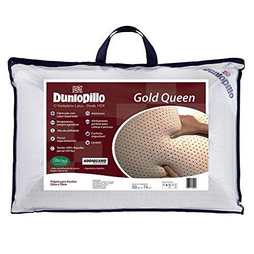Travesseiro Látex Gold Queen - Dunlopillo