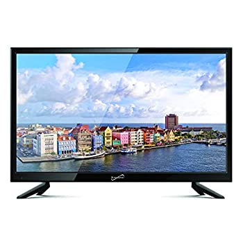 Supersonic SC-1911 19-Inch 1080p LED Widescreen HDTV with HDMI Input  AC/DC Compatible
