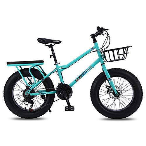 20inch 4,0 dikke banden, grote banden, variabele snelheid Schokbreker mountainbikes, sneeuwscooters/ATV's, met Verbrede Frame