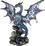 Nemesis Now - Figura Decorativa (26 cm), diseño de dragón, Color Azul