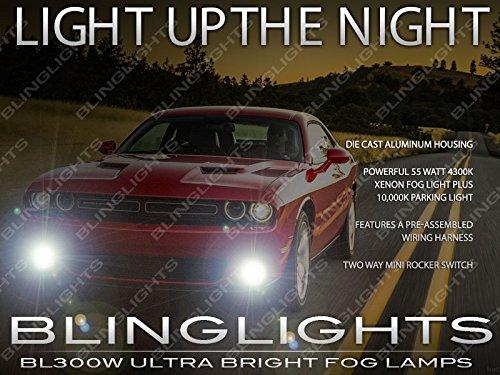 BlingLights Compatible Fog Lights Kit for 2015-2019 Dodge Challenger