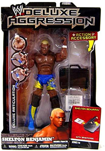 WWE Wrestling DELUXE Aggression Series 16 Action Figure Shelton Benjamin by Deluxe Aggression 16