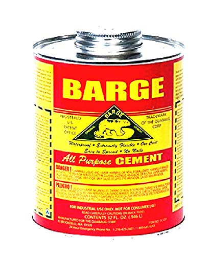 Barge All-Purpose Cement Rubber Leather Shoe Waterproof Glue 1 Qt (O.946 L) (32 Ounces)