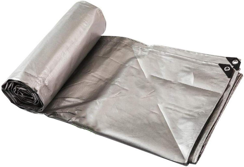 MuMa Plane Silber- Verdicken Verschlüsselung Regenfest Wasserdicht Sonnencreme Anpassen (Farbe   Silber, gre   10  15M)