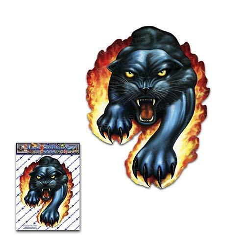 JAS Stickers® Schwarz Panther Tier Autoaufkleber - Katze Haustier Große Vinyl Aufkleber Pack für Laptop Gepäck Fahrrad Caravans Van Camper LKWs und Boote -ST00009_3