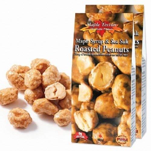メープル&シーソルト ローストピーナッツ 2箱セット【カナダ おみやげ(お土産) 輸入食品 スナック ナッツ 】