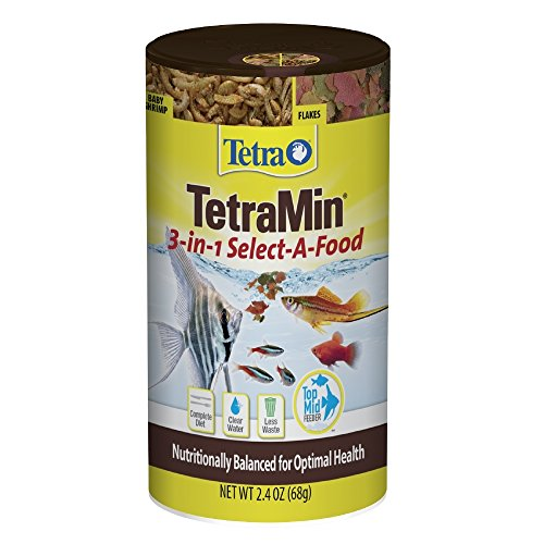 Tetra 77031  3 in 1 Min Tropical Select-A-Food Tropical Fish Food