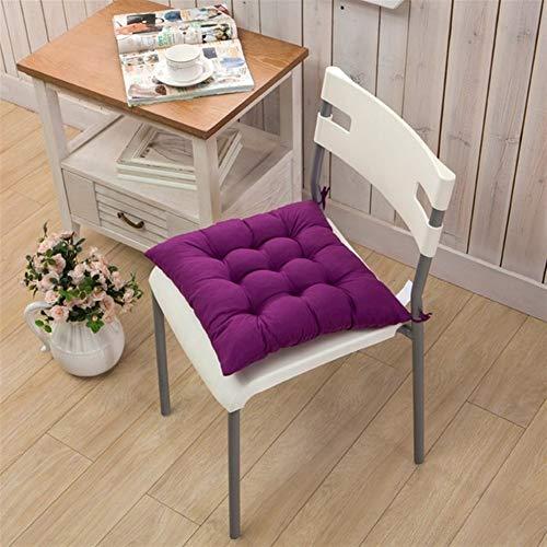 Nologo Cojín de silla para el hogar decorativo, cojín para silla de oficina, cojín para el sofá o el jardín al aire libre
