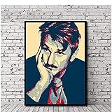 sechars Sean Penn Poster Leinwand Malerei Druck