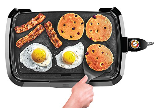 Chefman Electric Griddle, Fully Immersible and Dishwasher...