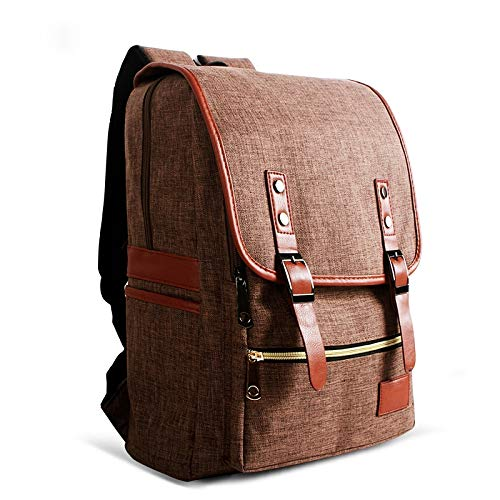G-rf Laptop Rugzak Universal Multi-Function Canvas Cloth Laptop Computer Schouders zak zaken rugzak Studenten Bag, Maat: 42x29x11cm, for 14 inch en onder Macbook, Samsung, Lenovo, Sony, Dell Alienware