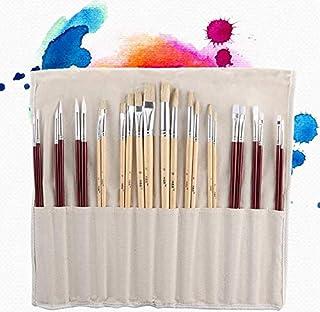 Pincel de Artista Cepillo para Acrylic Brush para Acr/ílico Acuarela /Óleo Gouache para Ni/ños Principiantes Amantes de la Pintura Pinceles de Acuarela 6 Pcs Set 6PCS Brochas de Pintura Pelo de Nylon
