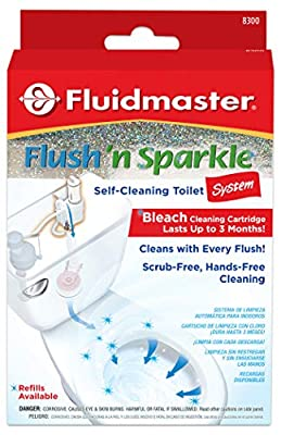 Fluidmaster 8300P8 Flush 'N' Sparkle Bleach Kit
