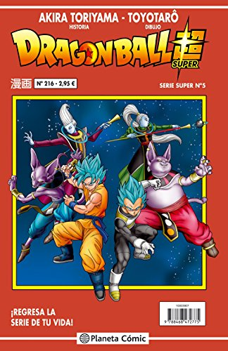 Dragon Ball Serie roja nº 216: 222 (Manga Shonen)