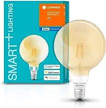 LEDVANCE LED lamp | Lampvoet: E27 | Warm wit | 2400 K | 6 W | SMART+ Filament Globe Dimmable [Energie-efficiëntieklasse A++]