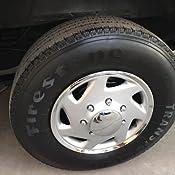 Tapacubos radzierblenden 4 unidades para Land Rover autobús//van//etc 16 pulgadas 10894