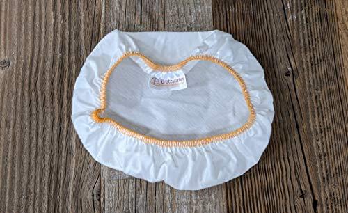 Textileinlage für Gärkörbchen, rund, 500g, 18cm Durchmesser