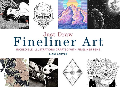 Carver, L: Just Draw Fineliner Art