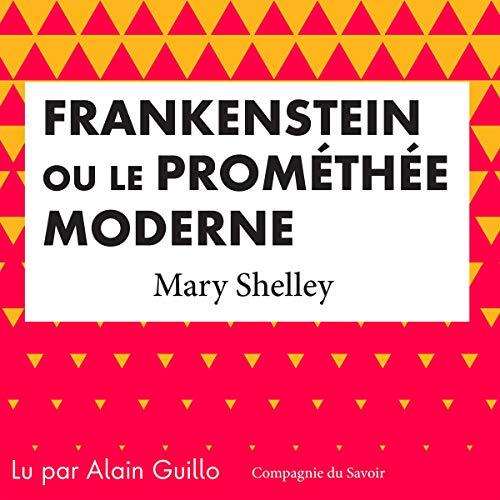『Frankenstein ou le Prométhée moderne』のカバーアート