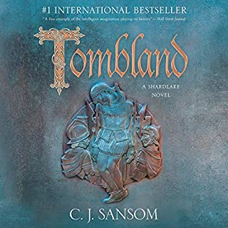 Tombland audiobook cover art