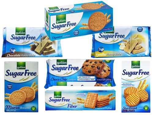 Gullon Sugar Free Biscuits Mixed...