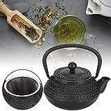 Tetera, Tetera de té de 0.3L Tetera de Hierro Fundido Vintage para el hogar para el Estudio de la casa de té