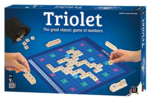 Triolet - Board Game, Brain Game, Wooden Pieces
