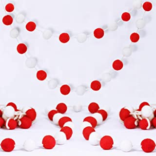 Supla 6' Long Pom Pom Garland 25 Pcs 1