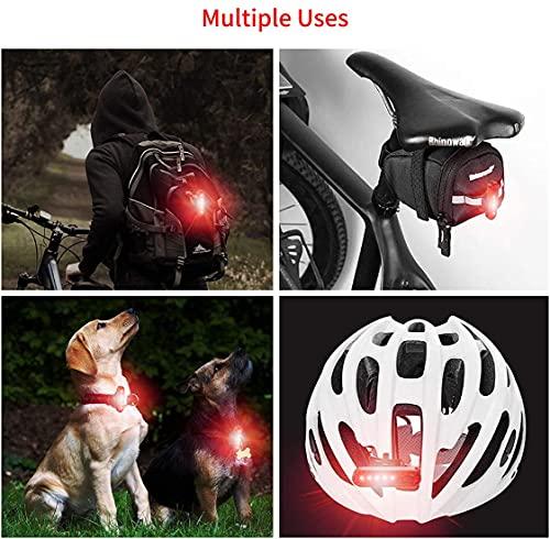2PCS Rear Bike Light Powerful Led Usb Rechargeable, Bike Back Light...