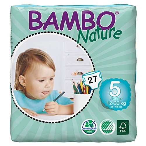 Bambo Nature - Junior Eco Windeln, 12-22 kg