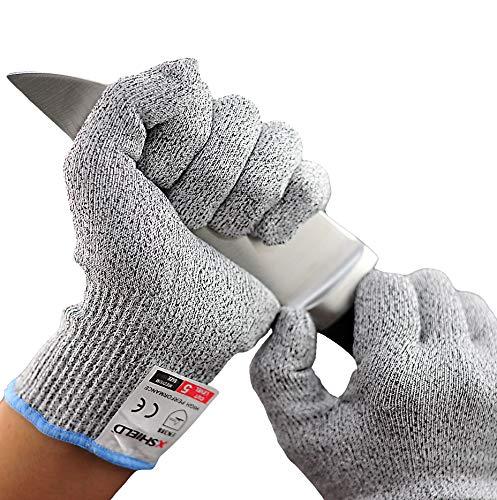 Cut Resistant Gloves-XSHIELD 17-CTG, High Cut...