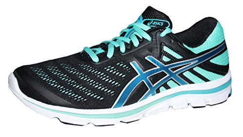 Asics Gel - Electro 33 corsa scarpa Black/Blue/Mi, Nero (nero), 42