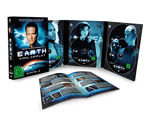 Gene Roddenberry's Earth: Final Conflict - Staffel 2 (6-DVD Digipak auf 1000ST. limitiert) [Limited Edition]