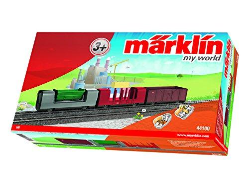 Märklin my world 44100 - Güterwagen-Set mit 3 verschiedenen Güterwagen, Spur H0