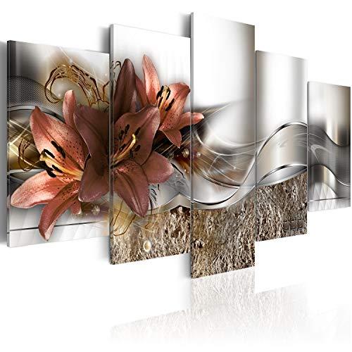 murando - Cuadro de Cristal acrílico 100x50 cm Impresión de 5 Piezas...
