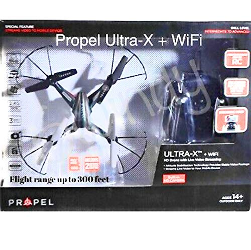 PropelUltra-X Ultra-X + WiFi HD Drone Live Video Streaming