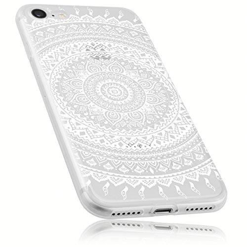 mumbi Custodia compatibile con iPhone 7/8 Case Custodia per cellulare con motivo Mandala, trasparente