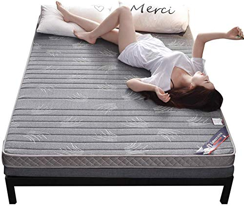 ZXL vloermat voor matras Tatami, Latex, opvouwbare matras voor Japanse futonmatras, dikte en dikte (kleur: B, maat: 120 x 200 cm)