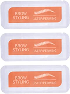 Beaupretty Brow Styling Soap Lifting Kit Eyebrows Lamination Sticker for Beauty Salon Accessories Portable Travel 3 Pcs