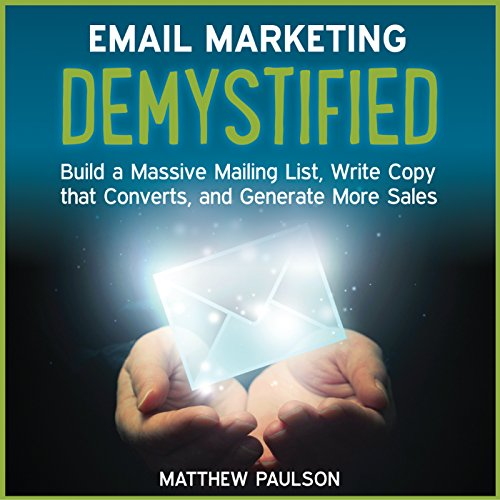 Email Marketing Demystified audiobook cover art