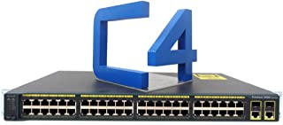 Cisco WS-C2960-48TC-L Catalyst 2960-48TC Managed Ethernet Switch - 48x 10/100Base-TX, 2X 10/100/1000