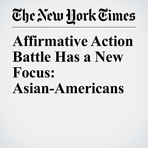 Affirmative Action Battle Has a New Focus: Asian-Americans copertina