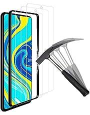 ANEWSIR (3 Pack Screen Protector Compatibel met Xiaomi Redmi Note 9 Pro/Xiaomi Mi 10T Lite 5G Screen Protector