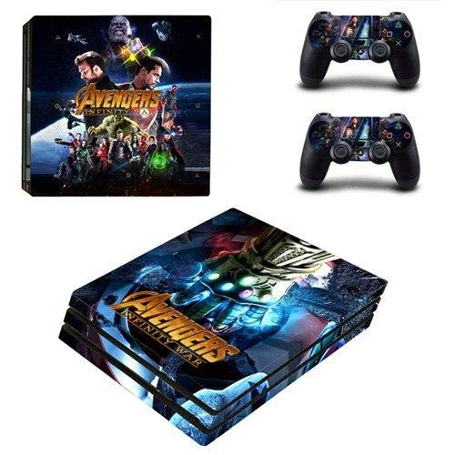 Homie Store PS4 Pro Skin - Ps4 Skins - Ps4 Slim Sticker - NieR Automata PS4 Pro Skin Sticker for Sony Playstation 4 Pro Console and Controllers for Dualshock 4 PS4 Pro Stickers Decal
