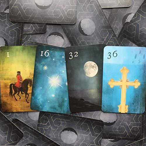 Mondnacht Lenormand Kartendeck Hi-Flex (320g/qm)