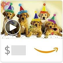 Amazon eGift Card - Happy Birthday Dogs (Animated) [American Greetings]